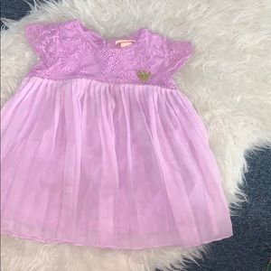 Juicy toddler dress purple dress🔥